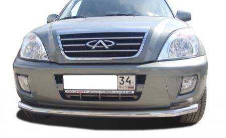 CHERY   Tiggo 2012  Защита переднего бампера   60